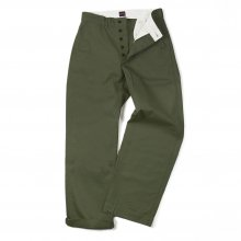 "THE OVERALLS ""CHINOS""-olive-"