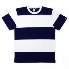 <img class='new_mark_img1' src='https://img.shop-pro.jp/img/new/icons14.gif' style='border:none;display:inline;margin:0px;padding:0px;width:auto;' />TRAD MARKS OLD 15 BOEDER TEE -navy-