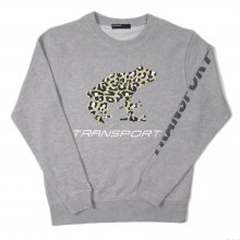 TRANSPORT LEOPARD FROG Light Sweat -gray-