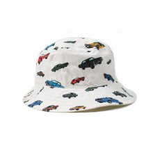 THE COLOR ONE HAT MUSCLE CAR ver. -white-
