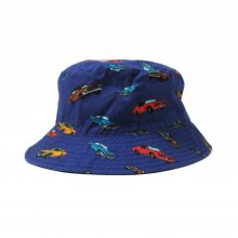 THE COLOR ONE HAT MUSCLE CAR ver. -navy-