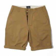 THE FABRIC CHINO'S SHORT PANTS -beige-