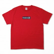"I.M.M.A.W.  ""CANDYRIM BOX LOGO TEE"" -red/navy-"