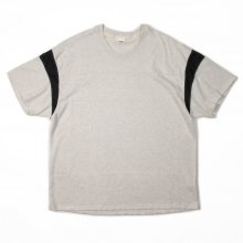 THE FABRIC A-F TEE -gray-