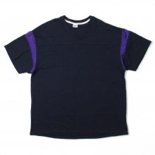 THE FABRIC A-F TEE -navy-