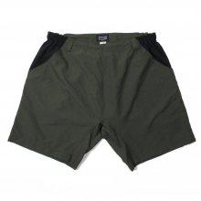 THE FABRIC EAZY NYLON SHORTS -olive-