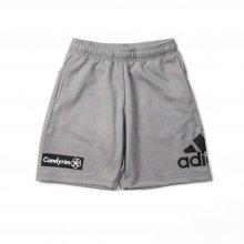 adidas CLIMALITE DRY SWEAT HALF PANTS -gray-