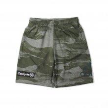 adidas CLIMALITE DRY SWEAT HALF PANTS -camo-