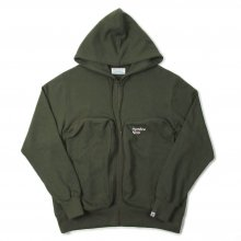 <img class='new_mark_img1' src='https://img.shop-pro.jp/img/new/icons39.gif' style='border:none;display:inline;margin:0px;padding:0px;width:auto;' />Hombre Nino BIG POCKET ZIP UP SWEAT SHIRT -olive drab-