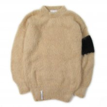 "<img class='new_mark_img1' src='//img.shop-pro.jp/img/new/icons14.gif' style='border:none;display:inline;margin:0px;padding:0px;width:auto;' />AKA SIX simon barker × FRAGMENT DESIGN ""MOHAIR JUMPER"" -armband-"