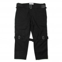 PEEL&LIFT BONDAGE TROUSERS MODERN -black-