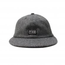 THE COLOR WOOL SUN CAP -gray-
