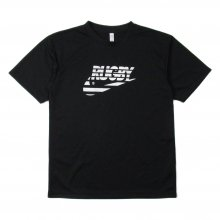 O3 RUGBY GAME wear & goods THE RUGBY BLACKS dry TEE -black-