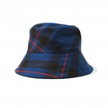 <img class='new_mark_img1' src='//img.shop-pro.jp/img/new/icons14.gif' style='border:none;display:inline;margin:0px;padding:0px;width:auto;' />1977 BLUE ELLIOT TARTAN BUCKET HAT