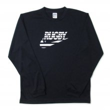 O3 RUGBY GAME wear & goods THE RUGBY BLACKS dry L/S TEE -black-