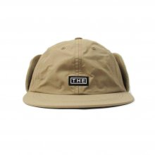 THE COLOR SUN CAP w/EAR WARMER -beige-