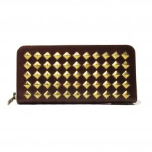 THE COLOR STUDS PURSE -brown-