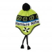 Hombre Nino EARFLAP BEANIE -yellow green-