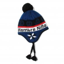 <img class='new_mark_img1' src='//img.shop-pro.jp/img/new/icons14.gif' style='border:none;display:inline;margin:0px;padding:0px;width:auto;' />Hombre Nino EARFLAP BEANIE -blue-