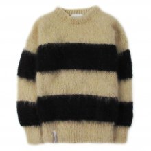 "<img class='new_mark_img1' src='//img.shop-pro.jp/img/new/icons14.gif' style='border:none;display:inline;margin:0px;padding:0px;width:auto;' />AKA SIX simon barker × FRAGMENT DESIGN ""MOHAIR JUMPER"" -camel/black stripe-"