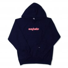<img class='new_mark_img1' src='//img.shop-pro.jp/img/new/icons14.gif' style='border:none;display:inline;margin:0px;padding:0px;width:auto;' />SAYHELLO BASMATI LOGO EMBROIDERY HEAVY HOODIE -navy-