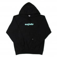 <img class='new_mark_img1' src='//img.shop-pro.jp/img/new/icons14.gif' style='border:none;display:inline;margin:0px;padding:0px;width:auto;' />SAYHELLO BASMATI LOGO EMBROIDERY HEAVY HOODIE -black-