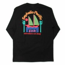 <img class='new_mark_img1' src='https://img.shop-pro.jp/img/new/icons14.gif' style='border:none;display:inline;margin:0px;padding:0px;width:auto;' />SAYHELLO PACIFIC L/S TEE -black-