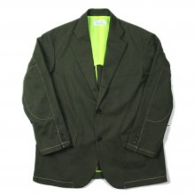 <img class='new_mark_img1' src='//img.shop-pro.jp/img/new/icons14.gif' style='border:none;display:inline;margin:0px;padding:0px;width:auto;' />Hombre Nino COTTON 3B JACKET -olive-