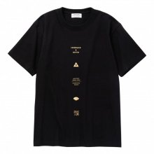 POET MEETS DUBWISE ALL GRAPHIC TEE -black-