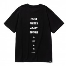 POET MEETS DUBWISE JAZZY SPORT COLLABORATION TEE