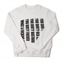 <img class='new_mark_img1' src='//img.shop-pro.jp/img/new/icons14.gif' style='border:none;display:inline;margin:0px;padding:0px;width:auto;' />AKA SIX simon barker × FRAGMENT DESIGN GRUNDY JUMP SWEAT SHIRT -white-