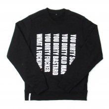<img class='new_mark_img1' src='//img.shop-pro.jp/img/new/icons14.gif' style='border:none;display:inline;margin:0px;padding:0px;width:auto;' />AKA SIX simon barker × FRAGMENT DESIGN GRUNDY JUMP SWEAT SHIRT -black-
