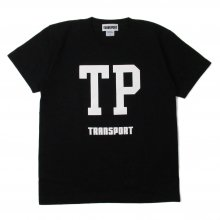 TRANSPORT TP BIG FONT T-SHIRT BLACK