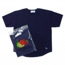 Hombre Nino × FRUIT OF THE LOOM 2PACK TEE -navy-