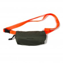 THE COLOR FIELD POUCH S -olive/orange-
