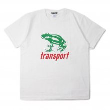 TRANSPORT BIG FROG T-SHIRT WHITE