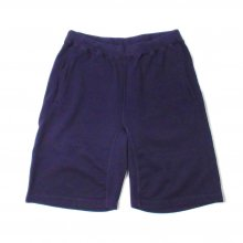 THE FABRIC SWEAT SHORTS -purple-