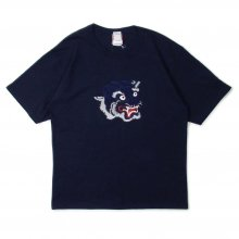 <img class='new_mark_img1' src='//img.shop-pro.jp/img/new/icons14.gif' style='border:none;display:inline;margin:0px;padding:0px;width:auto;' />LOOKER CAMO TIGER TEE -navy-