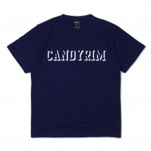 <img class='new_mark_img1' src='//img.shop-pro.jp/img/new/icons14.gif' style='border:none;display:inline;margin:0px;padding:0px;width:auto;' />CANDYRIM -wareline- CANDYRIM SHADOW TEE -navy-