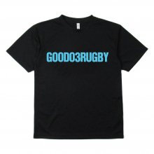 <img class='new_mark_img1' src='https://img.shop-pro.jp/img/new/icons35.gif' style='border:none;display:inline;margin:0px;padding:0px;width:auto;' />O3 RUGBY GAME wear & goods GOODRUGBY dry TEE -black / neon blue-