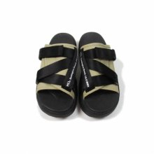 <img class='new_mark_img1' src='//img.shop-pro.jp/img/new/icons14.gif' style='border:none;display:inline;margin:0px;padding:0px;width:auto;' />MEI RECYCLE NYLON SANDAL -black,beige,khaki-