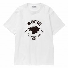 POET MEETS DUBWISE Mintos T-Shirt -white-
