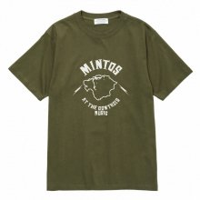 POET MEETS DUBWISE Mintos T-Shirt -olive-