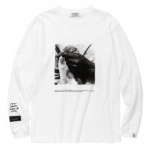 <img class='new_mark_img1' src='//img.shop-pro.jp/img/new/icons14.gif' style='border:none;display:inline;margin:0px;padding:0px;width:auto;' />POET MEETS DUBWISE Bird Photo Long Sleeve T-Shirt