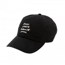 <img class='new_mark_img1' src='//img.shop-pro.jp/img/new/icons14.gif' style='border:none;display:inline;margin:0px;padding:0px;width:auto;' />POET MEETS DUBWISE PMD Baseball Low Cap -black-