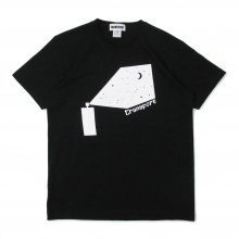 <img class='new_mark_img1' src='//img.shop-pro.jp/img/new/icons14.gif' style='border:none;display:inline;margin:0px;padding:0px;width:auto;' />TRANSPORT Spray Galaxy T-SHIRT -black-