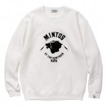 <img class='new_mark_img1' src='//img.shop-pro.jp/img/new/icons14.gif' style='border:none;display:inline;margin:0px;padding:0px;width:auto;' />POET MEETS DUBWISE Mintos Sweat -white-