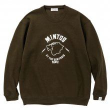 <img class='new_mark_img1' src='//img.shop-pro.jp/img/new/icons14.gif' style='border:none;display:inline;margin:0px;padding:0px;width:auto;' />POET MEETS DUBWISE Mintos Sweat -olive-
