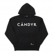 CANDYRIM -wareline- CANDYR. BIG LOGO PULLOVER HOODIE -black-