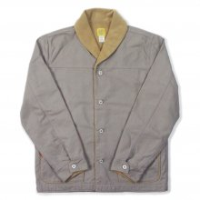 THE BLUEST OVERALLS WORK BORE JACKET -gray-